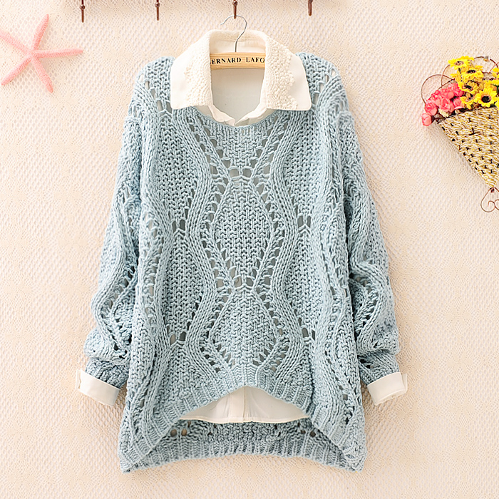 Knitting Sweaters For Girls : Over size knit sweater for women on luulla